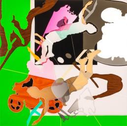 Shadow Flag-Schaduwvlag-2-series-2-h100cm-x-b100cm-2015, Shadow Flag II, series #2, 2015, h 100 cm x b 100 cm, collage of adhesive film on drawing polyester mounted on a lightbox, collage de film adhésif sur dessin polyester monté sur une lightbox-par-international-contemporain-plasticien-artiste-Patrick-Koster-basé-à-Amsterdam-Pays-Bas-Collage de película adhesiva sobre dibujo de poliéster montado en una caja de luz-por-artista-internacional-contemporánea-visual-Patrick-Koster-con sede en Amsterdam-Países Bajos-由国际当代视觉艺术家帕特里克·科斯特(Patrick-Koster)驻阿姆斯特丹的国际灯箱上的聚酯薄膜上的粘合膜拼贴画-ライトボックスに取り付けられたポリエステルを描画する際の接着フィルムのコラージュ-国際コンテンポラリー-ビジュアルアーティスト-パトリック-コスターに基づく-アムステルダム-オランダ